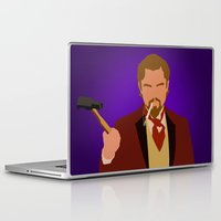 calvin Laptop & iPad Skins featuring Calvin Candie - Django Unchained by Tom Storrer