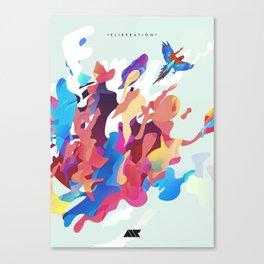 .ELIBERATION. Canvas Print