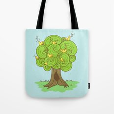The Music Tree Tote Bag