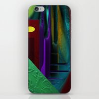 street iPhone & iPod Skins featuring Street by Turul