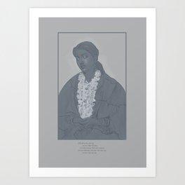Weariness Art Print