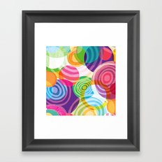 Circle-licious Sweetie Framed Art Print