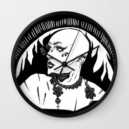Sasha Velour 2 Wall Clock