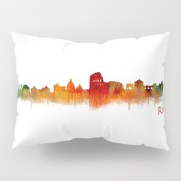 Rome city skyline HQ v02 Pillow Sham