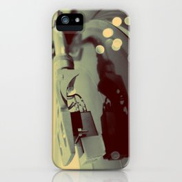 Turntablism iPhone Case