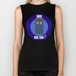 Who Are You ? Biker Tank