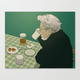 Meal Canvas Print