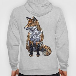 Stained Glass Fox Hoody