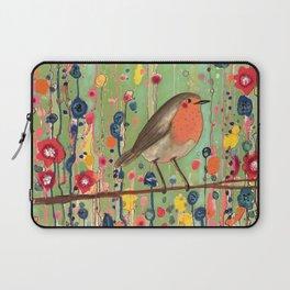 je ne suis pas qu'un oiseau revisited Laptop Sleeve