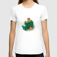 sofa T-shirts featuring Family sofa by Bakal Evgeny