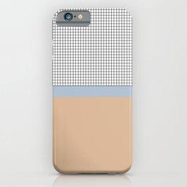 Grid 4 iPhone Case