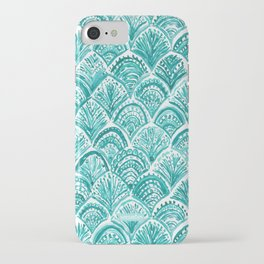 AQUA LIKE A MERMAID Fish Scales iPhone Case
