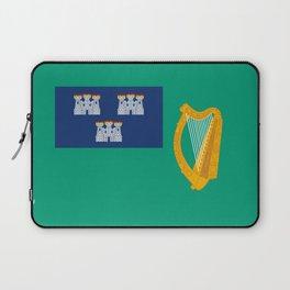 Flag of Dublin Laptop Sleeve