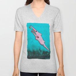 Goblin Shark! Unisex V-Neck