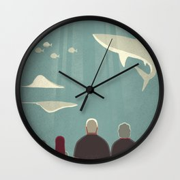 Day Trippers #9 - Aquarium Wall Clock