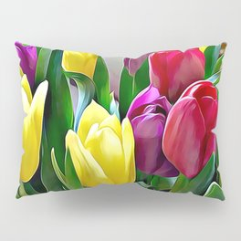 Tulips From Amsterdam Pillow Sham