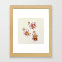 Bottle Bugs I Framed Art Print