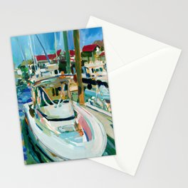 Pleasure Craft, Cape May, New Jersey Stationery Cards