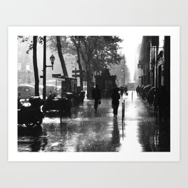 Many thanks to the rain Art Print