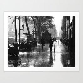 Many thanks to the rain Art Print