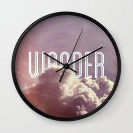 Wander (square) Wall Clock