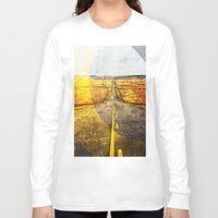 road Long Sleeve T-shirts featuring Road by emegi