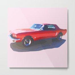 Ol' Red Metal Print