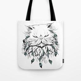 Poetic Persian Cat Tote Bag