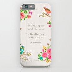 The secret garden Slim Case iPhone 6s