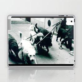 Dog Walker NYC  Laptop & iPad Skin