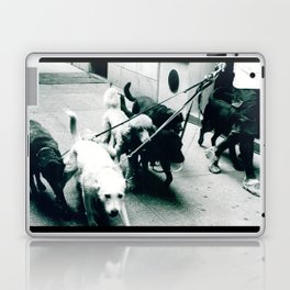 Dog Walker NYC  Laptop & iPad Skin