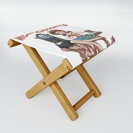 Wicked Thoughts Folding Stool