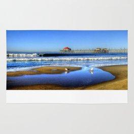 High Tide Shorebreak * H.B. Pier Rug