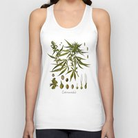 cannabis Tank Tops featuring Cannabis by jbjart