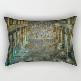 Apocalyptic Vision of the Sistine Chapel Rome 2020 Rectangular Pillow