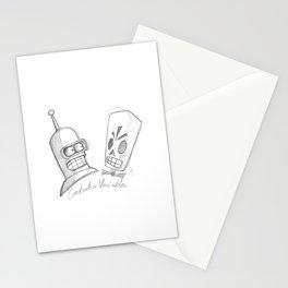 Bender X Grim Fandango Stationery Cards