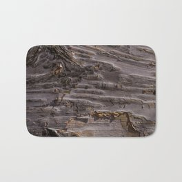 Silver Birch Bark in colour by Teresa Thompson Bath Mat