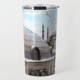 Istanbul's Blue Mosque Travel Mug