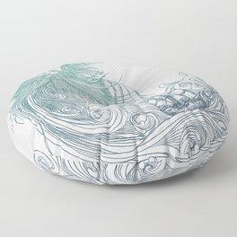 Sea Beard Floor Pillow