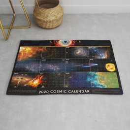 Cosmic Calendar 2020 — Cosmos: Possible Worlds Rug