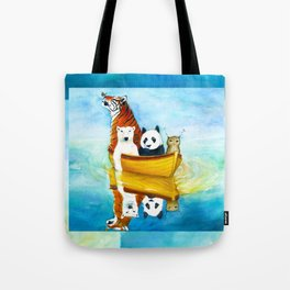 Herbert at Sea Tote Bag