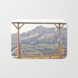 Western Mountain Ranch Bath Mat