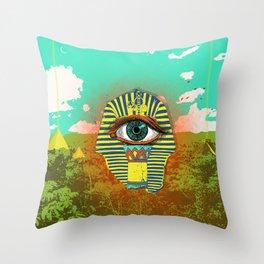 PAPYRUS IRIS Throw Pillow