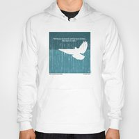 movie posters Hoodies featuring No011 My Blade Runner minimal movie poster by Chungkong