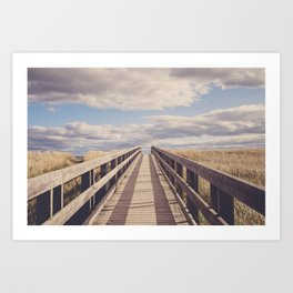 Dream Walking Art Print