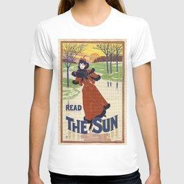Vintage Winter 1896 women fashion T-shirt