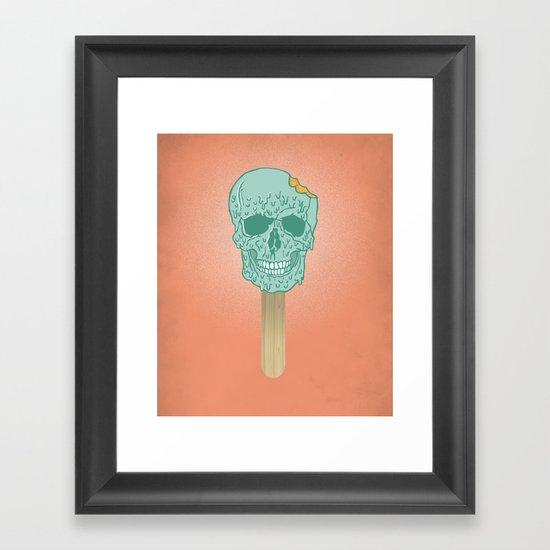 We All Scream Framed Art Print