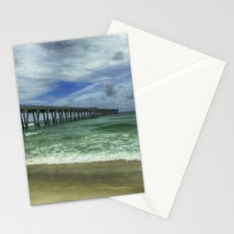 Fishing Pier Stationery Cards