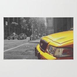 New york cab Rug