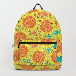 sunflower field Backpack